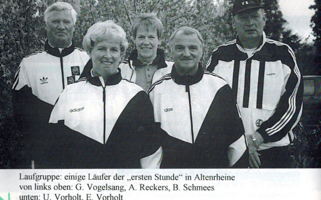 Laufgruppe 1989